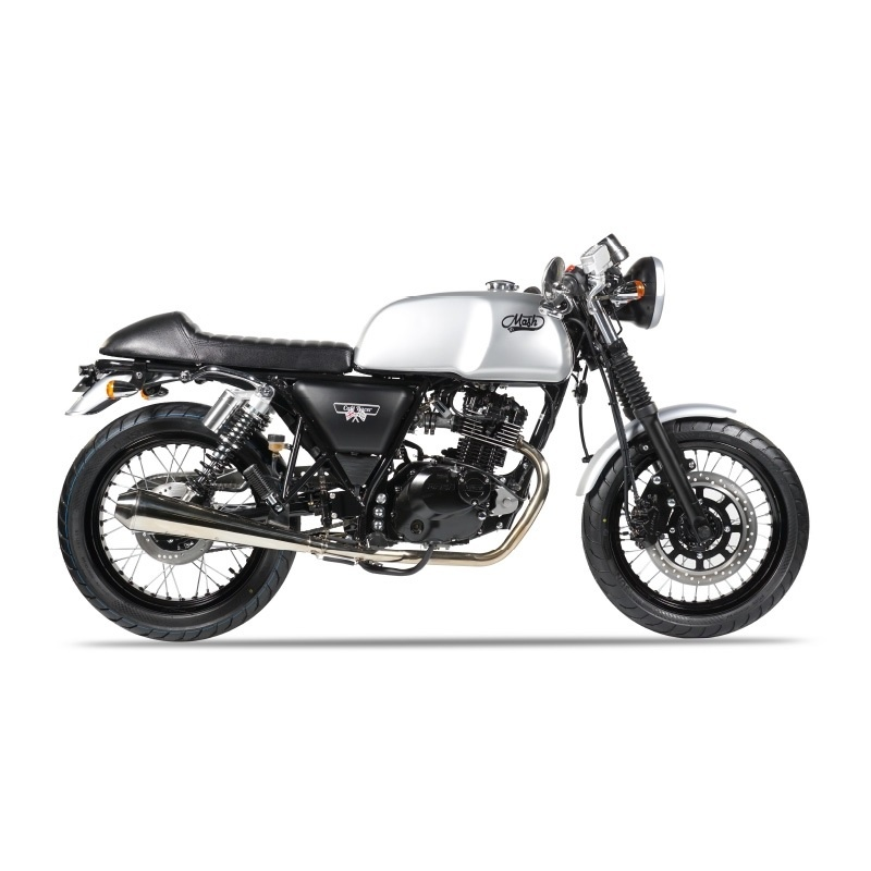 mash cafe racer silver mat 125 cm3 mash motorcycles. Black Bedroom Furniture Sets. Home Design Ideas