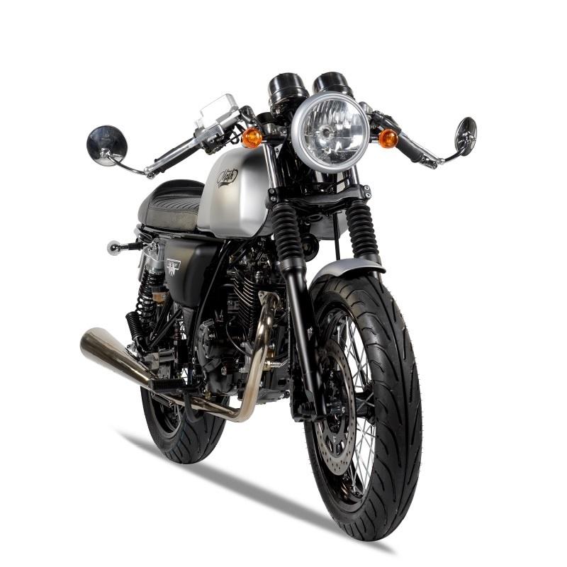 mash cafe racer silver mat 125 cm3 mash motorcycles. Black Bedroom Furniture Sets. Home Design Ideas