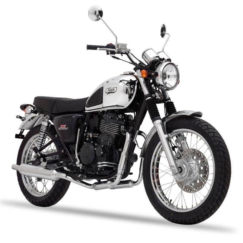 mash five hundred chromium 400 cm3 mash motorcycles. Black Bedroom Furniture Sets. Home Design Ideas