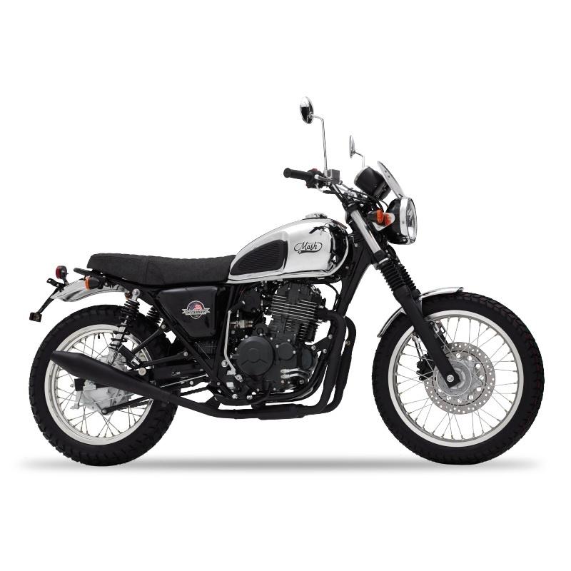 mash scrambler chromium 400 cm3 mash motorcycles. Black Bedroom Furniture Sets. Home Design Ideas