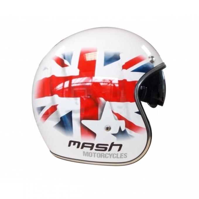 Moto ķivere Mash Union Jack Blanc