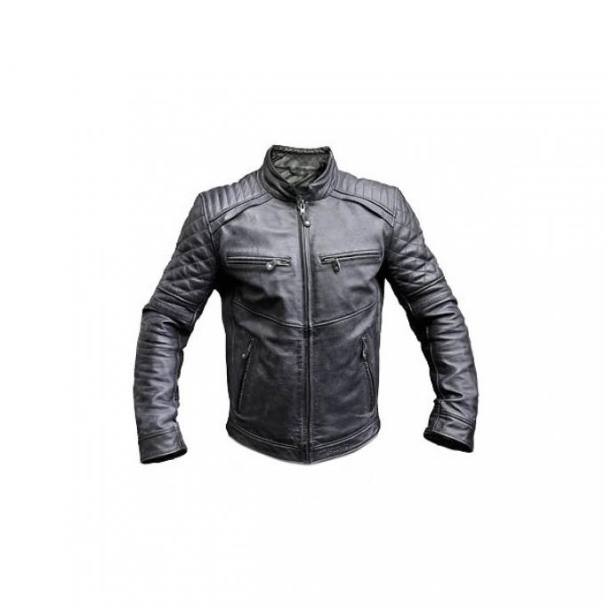 Vīriešu motociklistu jaka