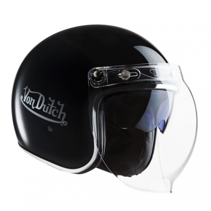 Moto ķivere Von Dutch Black
