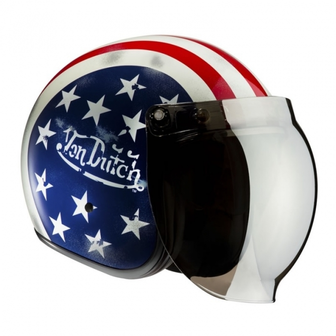 Moto ķivere Von Dutch Captain America