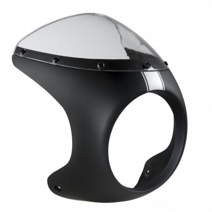 Cafe Racer Melns vējstikls 125/250 cc