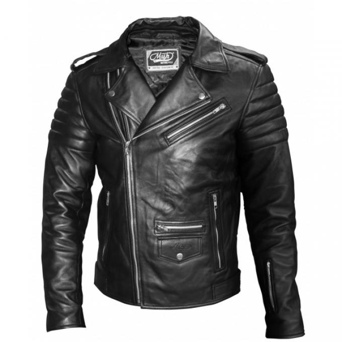 Mash motociklistu ādas jaka